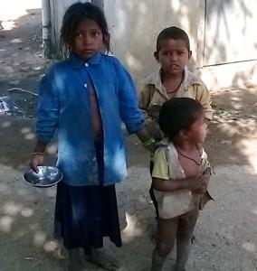 Children of Manpur village